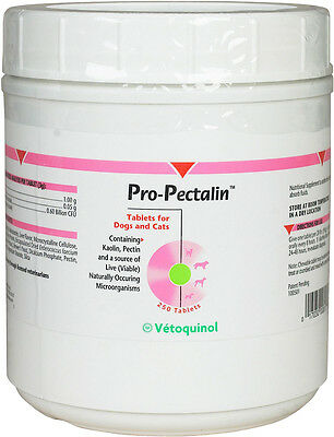Pro-Pectalin for Dogs & Cats (250 Chewable Tablets)