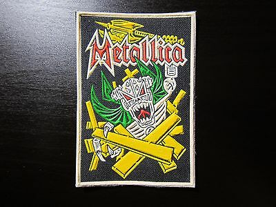 METALLICA synthetic rubber patch RARE!!!