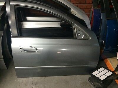 Ford Ba Bf Drivers Front Door - Paint Code M7 - Mercury Silver