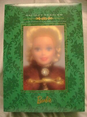 Holiday Caroler Barbie - Holiday Porcelain Barbie Collection