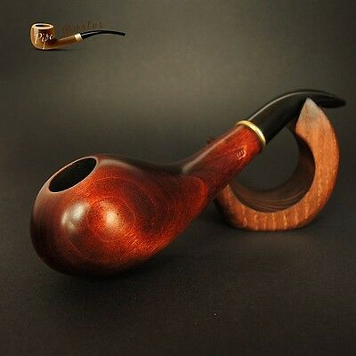 """HAND MADE WOODEN   TOBACCO SMOKING PIPE PEAR    """"Drop""""    Made by Artisan"""