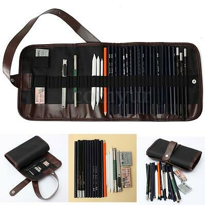 30x Drawing Sketching Sketch Pencil Pen Set Student Stationery Art Supply Tool