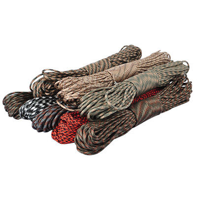 New 100FT 550 Paracord Parachute Cord Lanyard Mil Spec Type III 7 Strand Core
