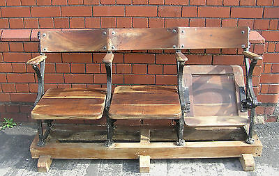Cast Iron Shop Display Seating Cinema Seats  Barber Shop Garden Patio Chairs