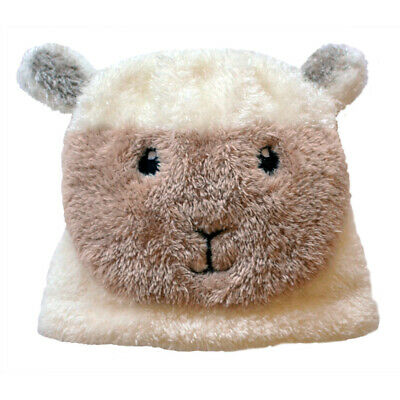 Patrick Francis Ireland Kids Woolly Sheep Heads Hats, Cream Colour