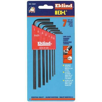 Eklind 7Pc Long Hex Key 10207 Unit: EACH