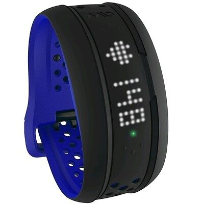 Mio Fuse Activity Tracker Training Band ANT HRM - (Cobalt Blue) New | Strap: Lrg