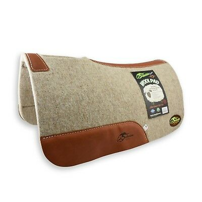 "100% ""Extra Fine"" Wool Saddle Pad by Southwestern NWT - 27"" X 27"" X 1"" Thick"