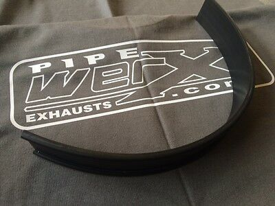 Pipe Werx Motorcycle Exhaust Can Hanging Strap GP Bracket Rubber Strip