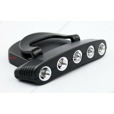 Lampe Frontale Cap light ( 5 LED )