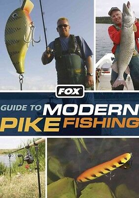 Fox Guide to Modern Pike Fishing by Mick Brown Paperback Book (English)