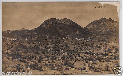 RPPC - New Mexico Mining Camp - panoramic photo - early 1900s