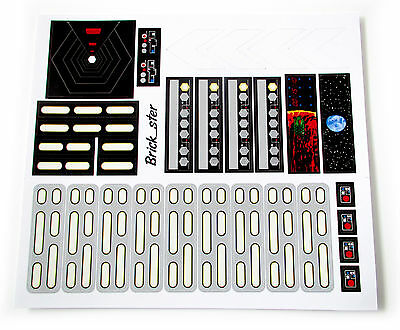 CUSTOM STICKERS for LEGO 10188 75159 Death star , models, toys, etc. die-cut!