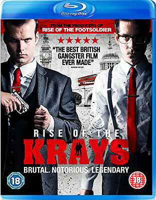 The Rise of the Krays NEW Cult Blu-Ray Disc Zackary Adler Matt Vael Simon Cotton