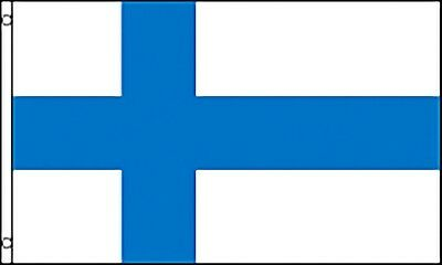 Large 3' x 5' High Quality 100% Polyester Finland Flag - Free Shipping