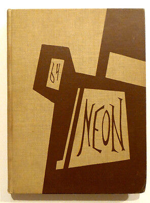 Youngstown University Ohio Yearbook 1964 Neon Vol 34 ** Unmarked!! **