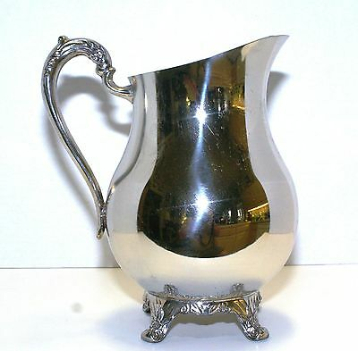 Silver Plated Water Pitcher made by F.B. Rogers Silver Company