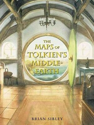 The Maps of Tolkien's Middle-earth by Brian Sibley Hardcover Book