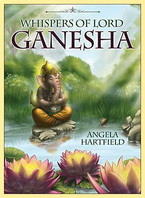 Whispers of Lord Ganesha: Oracle Cards by Angela Hartfield Book & Merchandise Bo