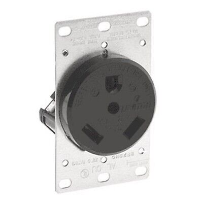 RV Power Outlet Receptacle,No 7313,  Leviton Mfg Co