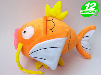 Plush New Pokemon Magikarp Lei Wang STUFFED TOY Doll 12""