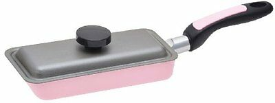Japanese Tamagoyaki Frying pan/Omelette Pan 7inch x 3.1inch with lid from Japan