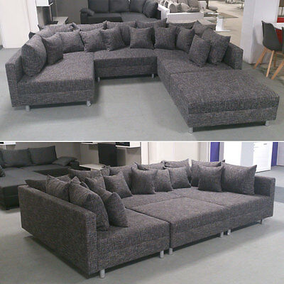wohnlandschaft frisana braun sofa couch ecksofa eur 779 00 picclick de. Black Bedroom Furniture Sets. Home Design Ideas