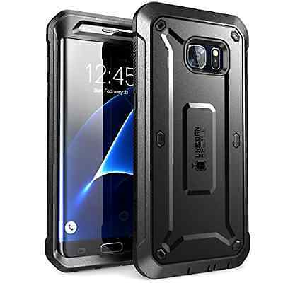 Galaxy S7 Edge Case, SUPCASE Full-body Rugged Holster Case WITHOUT Built-in Scre