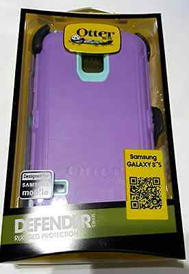 Otterbox Defender for Samsung Galaxy S5 with Holster/retail - Opal Purple/aqua B