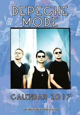 Depeche Mode 2017 Large Poster Wall Calendar New Sealed Free Uk Postage !!