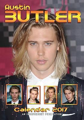 Austin Butler 2017 Large Poster Wall Calendar New & Sealed Free Uk Postage !!