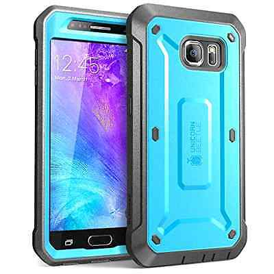 Galaxy S6 Case, SUPCASE Full-body Rugged Holster Case with Built-in Screen Prote