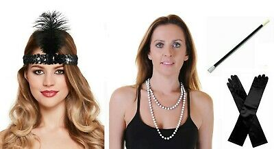 Great Gatsby 1920's Fancy Dress Accessories Buy one or more items BRAND NEW