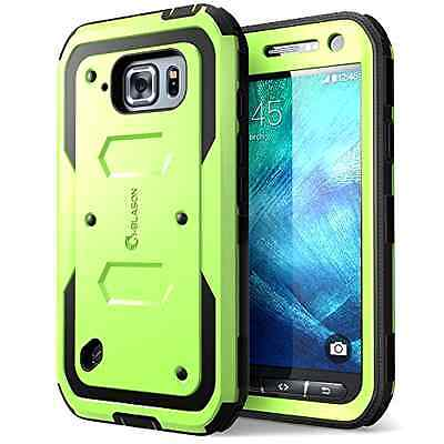 Galaxy S6 Active Case, [Heave Duty] **Slim Protection** i-Blason Armorbox [Dual
