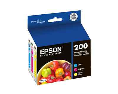 Epson Expression Home XP-400 3-Color Ink Combo Pack (OEM) 165 Pages Ea.