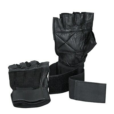 Training gloves Top Professional with Bandeau and padded Palm leather