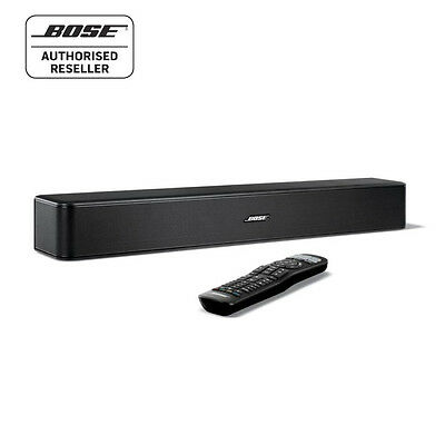 Bose Solo 5 TV Sound System with Bluetooth and Universal Remote Control