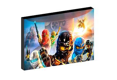 "LEGO NINJAGO d 12""X16"" (A3) CANVAS PICTURE"