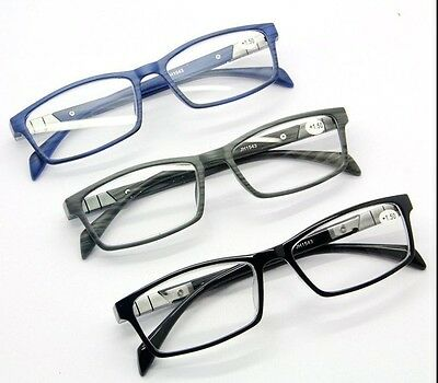Unisex Professional Reading Glasses Readers Presbyopia +1.00 ~ +4.00 3 Colors