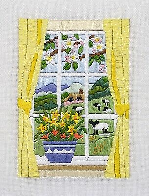 Anchor Long Stitch Kit - Spring Through the Window AL78505