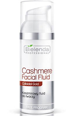Bielenda Professional Cashmere Facial Fluid with Colloidal Gold 50ml