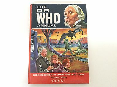 William Hartnell signed Dr Who Annual