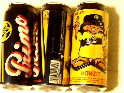 "NEW VARIANT PRIMO - HAWAII'S ORIGINAL BEER 16oz pint EMPTY can feat  ""CHANCE'UM"""