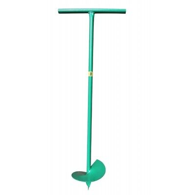 Auger Digger Fence Post Hole Borer Quickdrill Planting Trees Soil Drill Earth