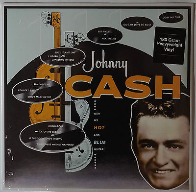 Johnny Cash - With His Hot And Blue Guitar! LP 180g vinyl NEU/SEALED