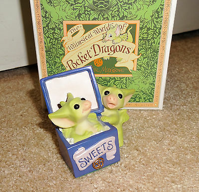 Whimsical World of Pocket Dragons by Real Musgrave 2001 All Gone LE Tour #013824
