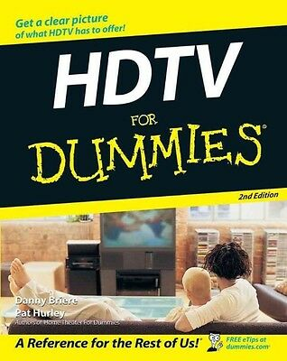 HDTV for Dummies by Danny Briere Paperback Book (English)