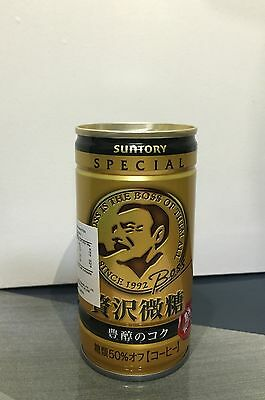 6 x Suntory BOSS Coffee cans