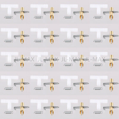 20PCS Brass Rabbit Water Nipples Gravity Feed Waterer