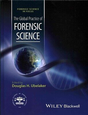 The Global Practice of Forensic Science by Ubelaker Hardcover Book (English)